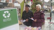 Dorset town celebrates going plastic-free