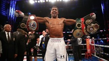 World Heavyweight Champion Anthony Joshua put in a devastating display to retain his titles and stop Povetkin at Wembley