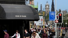 House of Fraser in Edinburgh is set to close.