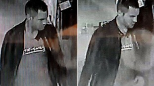 Police trying to trace man after Hove rape issue CCTV