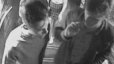 Police searching for a missing Worcester student identify men in CCTV images