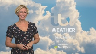 UK Weather Forecast: Becoming largely dry and cold overnight.