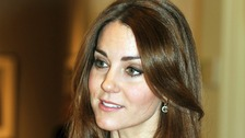 The Duchess of Cambridge seen during a trip to the National Portrait Gallery