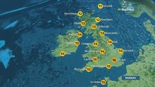 A fine and dry day with sunny spells for many places