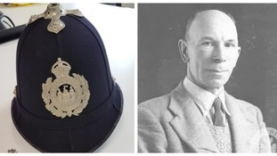 Historic police helmet from early 1900s to go on display