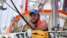 Race sailor rescued from Indian Ocean after vicious storm