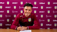 Jack Grealish signs new five year contract with Aston Villa