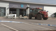 Man appears in court following supermarket raid