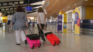 Passengers travelling today are advised to allow extra time for check in and to clear security