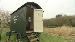 writers' hut