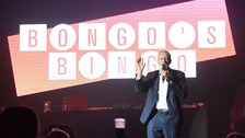 Jeremy Corbyn joins supporters for Bongo's Bingo in Liverpool