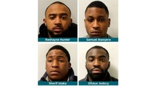 Gang jailed for running 'county line' drugs network