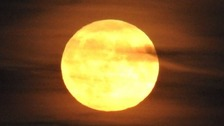 Spectacular pictures from last night's Harvest Moon