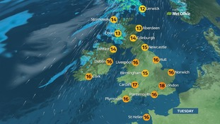Weather: Cold start, but dry and sunny for most