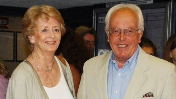 Lady Rix, also known as Elspet Gray, and Lord Rix pictured in August 2004.