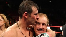 'Without you nothing would have been possible.' Joe Calzaghe's tribute to dad