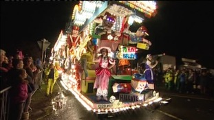Burnham carnival procession