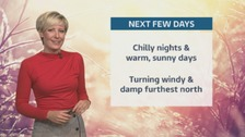 Wales Weather: Mostly dry, but less cold