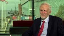 Jeremy Corbyn refuses to rule out extending UK's deadline for leaving EU