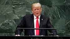 Trump call to isolate 'corrupt' Iran at UN General Assembly