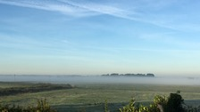 Shallow mist in Cantley