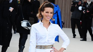 Kate Beckinsale turns out for Day Four of Fashion Week