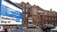 Hospitals in Hampshire told that they must improve