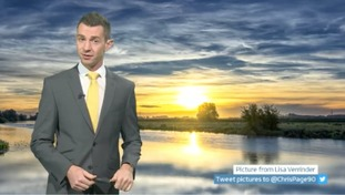 Weather forecast: a fine day in store for east and west of region