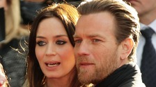 Ewan McGregor and Emily Blunt