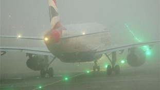 Fog disrupts flights