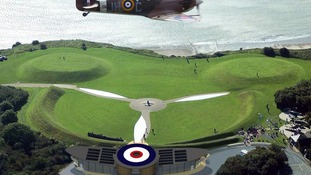 Capel-Le-Ferne, Folkestone, Battle of Britain