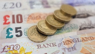Average wage growth in the UK is predicted to stay the same at 1.4 percent.