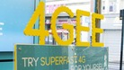EE's promotional campaign for superfast 4G