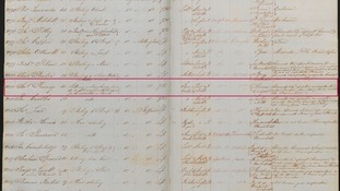 A register of convicts