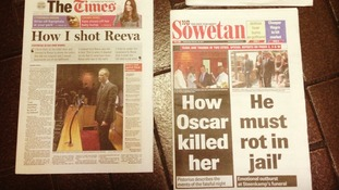 South African papers, The Times and Sowetan