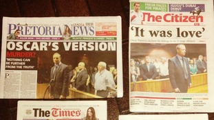 South African papers, Pretoria News and The Citizen