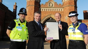 Lincolnshire's Police Commissioner teams up with council