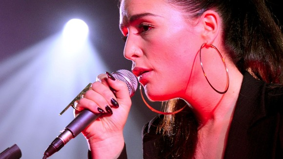 Jessie Ware performs as part of the MENCAP Little Noise sessions at the St John-at-Hackney Church,