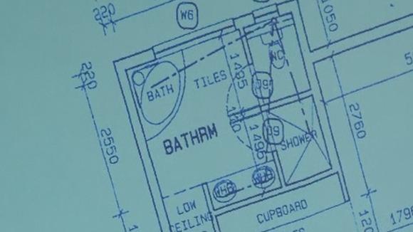 Court shown floor plan of oscar pistorius 39 house itv news for Oscar plans