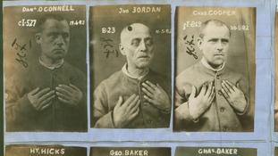 Some example mugshots from British history