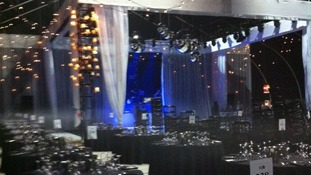 The stage is set for the Brit Awards after party