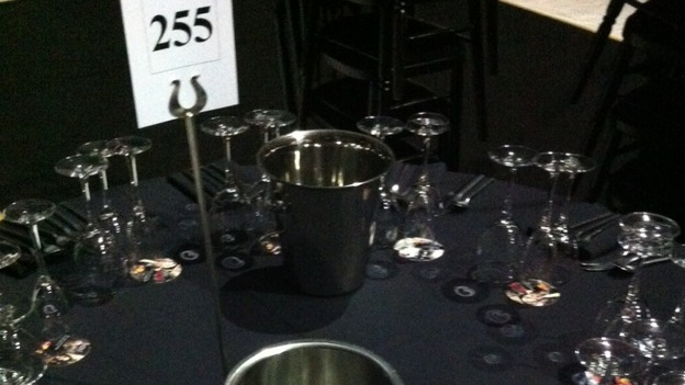 The tables are set for the Brit Awards after party