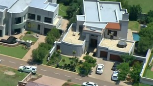 Oscar Pistorius' luxury home in Pretoria, South Africa