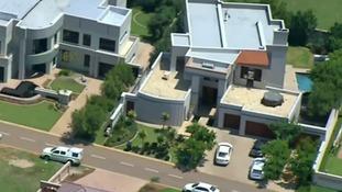 Oscar Pistorius' luxury home in Pretoria, South Africa