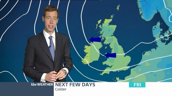 Martin Stew has a look at the today's weather in around London.