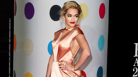Rita Ora is nominated in the British breakthrough act category