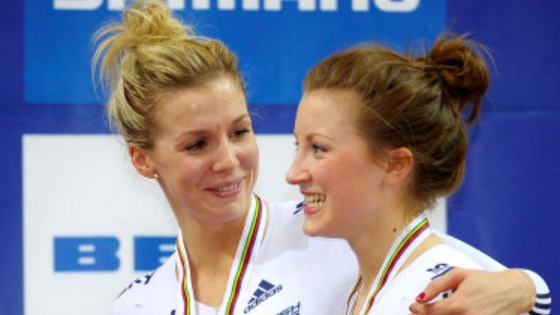 Becky James and Vicky Williamson