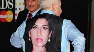Father wears Winehouse Waistcoat