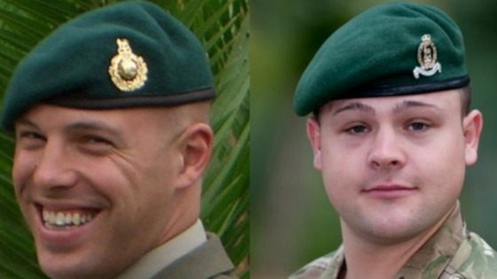 Sergeant Luke Taylor and Lance Corporal Michael Foley were killed by a rogue Afghan soldier in March