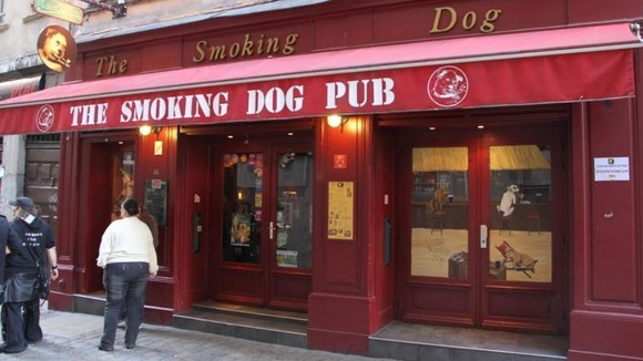 The Smoking Dog Pub in Lyon